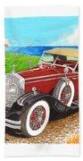 Rolls Royce Henley Roadster Beach Towel