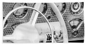 1937 Cord 812 Phaeton Dashboard Instruments Beach Towel