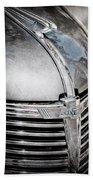 1938 Chevrolet Hood Ornament - Emblem Beach Towel