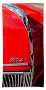 1939 Ford Grille Beach Towel