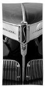 1941 Studebaker Champion Hood Emblem Beach Towel