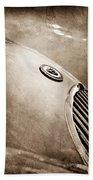 1951 Jaguar Grille Emblem Beach Towel