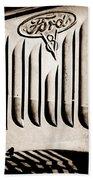 1951 Mercury Custom Emblem Beach Towel