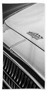 1952 Cunningham C-3 Coupe Hood Emblem Beach Towel
