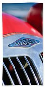 1952 Frazer-nash Le Mans Replica Mkii Competition Model Grille Emblem Beach Towel