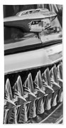 1953 Chevrolet Grille Emblem Beach Towel
