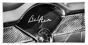 1955 Chevrolet Belair Dashboard Emblem Clock Beach Towel