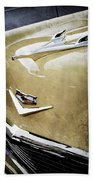 1956 Chevrolet Hood Ornament - Emblem Beach Towel