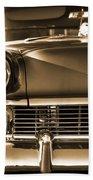 1956 Chevy Bel Air Beach Towel