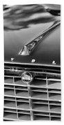 1957 Chrysler 300c Grille Emblem Beach Towel