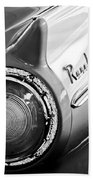 1957 Ford Ranchero Pickup Truck Taillight Beach Towel by Jill Reger