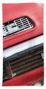 1957 Gmc V8 Pickup Truck Grille Emblem Beach Towel