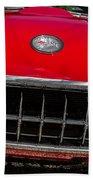 1958 Chevrolet Corvette Grille Beach Towel