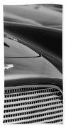1960 Aston Martin Db4 Series II Grille - Hood Emblem Beach Towel