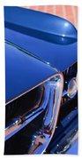 1962 Ghia L6.4 Coupe Grille Emblem Beach Towel