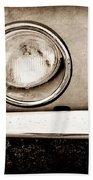 1963 Studebaker Avanti Emblem Beach Towel