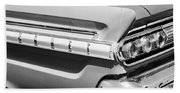 1964 Mercury Comet Taillight Emblem Beach Towel