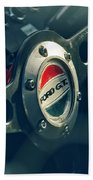 1965 Ford Gt 40 Steering Wheel Emblem Beach Towel