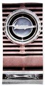 1966 Plymouth Barracuda - Cuda - Emblem Beach Towel