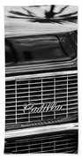 1969 Cadillac Eldorado Grille Beach Towel
