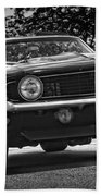 1969 Chevy Camaro Ss Beach Towel