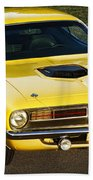 1970 Plymouth Hemi 'cuda Beach Towel