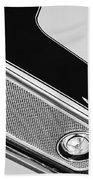 1971 Amc Javelin Amx Grille Emblem Beach Towel