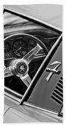 1971 Iso Grifo Can Am Steering Wheel Emblem Beach Towel