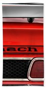 1973 Ford Mustang Mach 1 Beach Towel