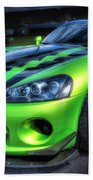2010 Dodge Viper Acr Beach Towel