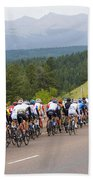 2014 Usa Pro Cycling Challenge Beach Towel