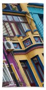 Abstract Istanbul 02 Beach Towel
