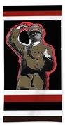Adolf Hitler Saluting 2 Circa 1933-2009 Beach Sheet