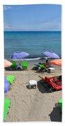 Agia Marina Beach Beach Towel