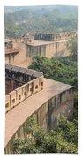 Agra Fort Tourist Destination In India Beach Towel