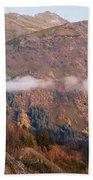 Alaskan Mountains Beach Towel