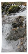 Alaskan Waterfall Beach Towel