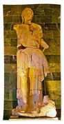 Alexander The Great In Antalya Archeological Museum-turkey Beach Towel
