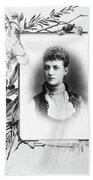 Alexandra Of Denmark (1844-1925) Beach Towel