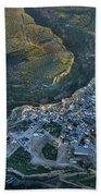 Alhama De Granada From The Air Beach Towel