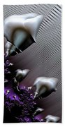 Alien Arrival Beach Towel by Bill Owen