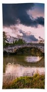 Alyesford Bridge Beach Towel