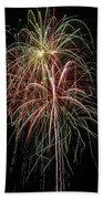 Amazing Fireworks Beach Towel