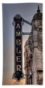 Ambler Theater - Ambler Pa Beach Towel