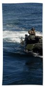 Amphibious Assault Vehicles Transit Beach Towel