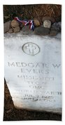 Medgar Evers -- An Assassinated Veteran Beach Towel