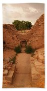 Anasazi Ruins  Beach Towel