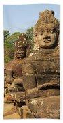 Angkor Thom South Gate Beach Towel