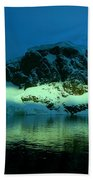 Antarctic Fiord Beach Towel