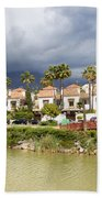 Apartment Houses In Marbella Beach Sheet